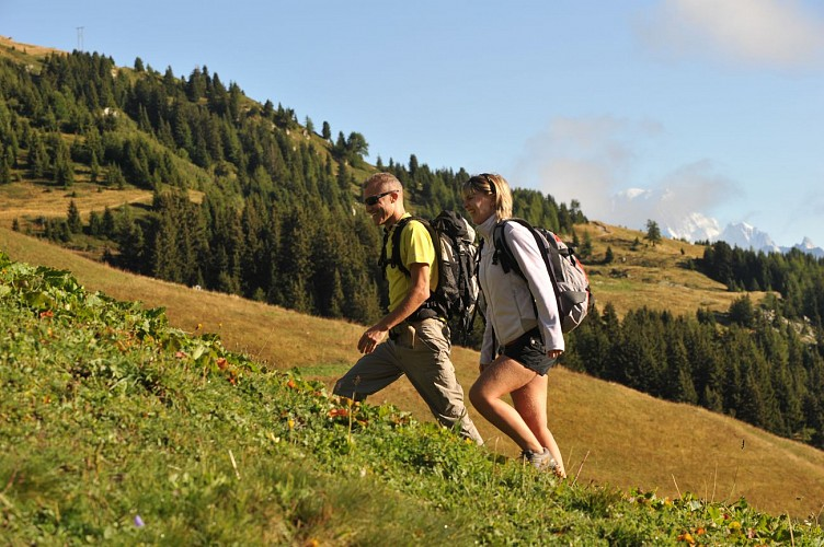 Summer hiking route: The Vanoise Express