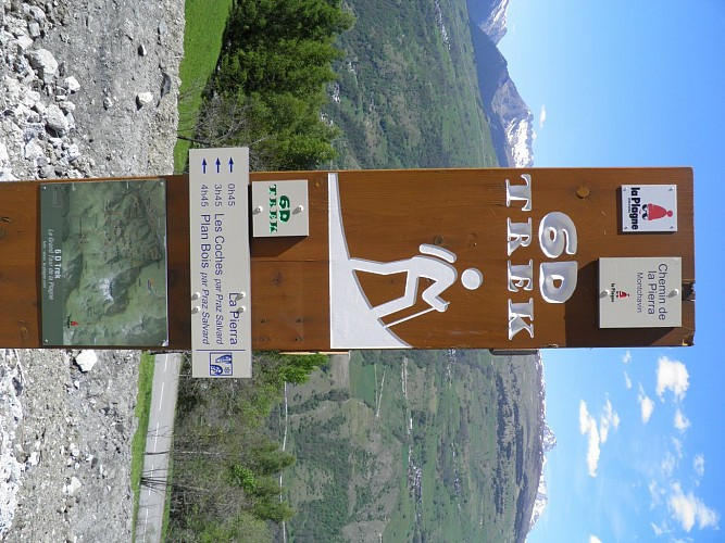 Hiking route: The Chemin de la Pierra