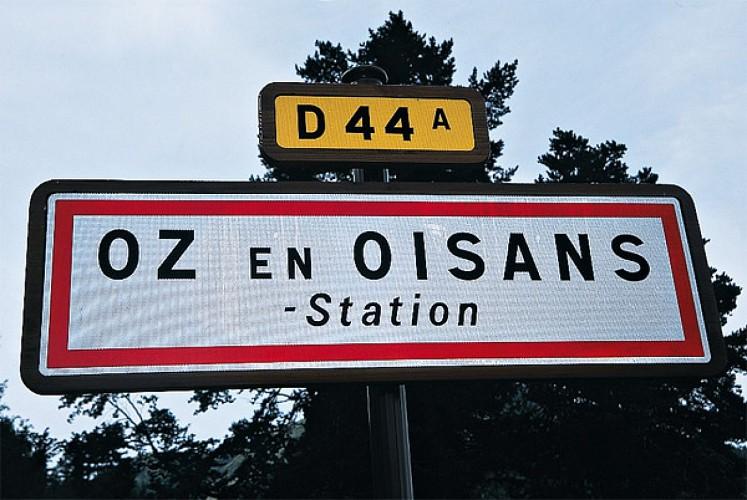 Arrivée à Oz en Oisans