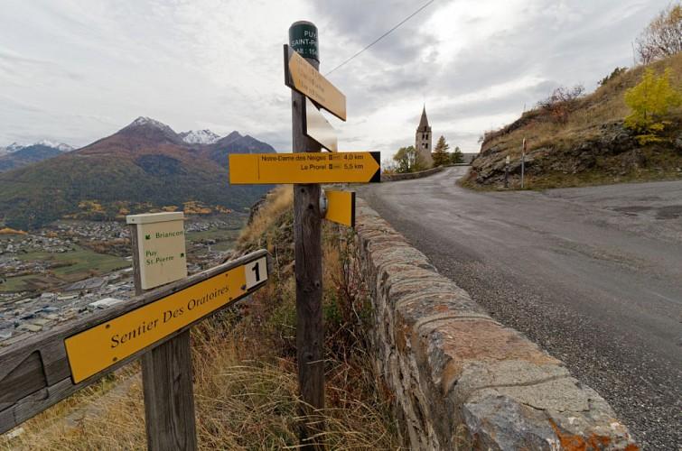 Route de Puy Saint André