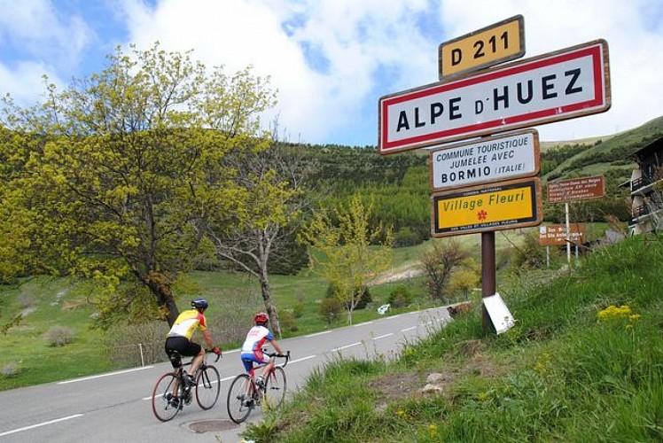 Alpe d'Huez, col de Sarenne et les balcons d'Auris (n°1)