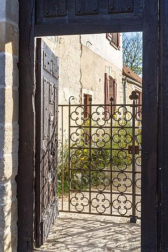 Entrée Abbaye de l'Ouye