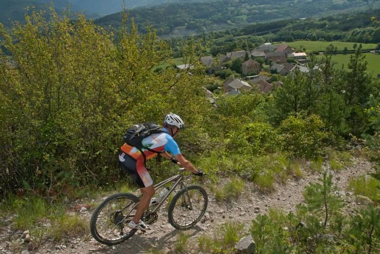 VTT Valgaudemar hautes alpes