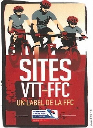 """Espace VTT-FFC Drôme des Collines - Boucle n°5 """"Le Bois de Châtelard"""""""