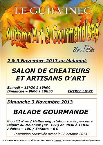 BALADE GOURMANDE - Automn'art & Gourmandises - 2ème édition