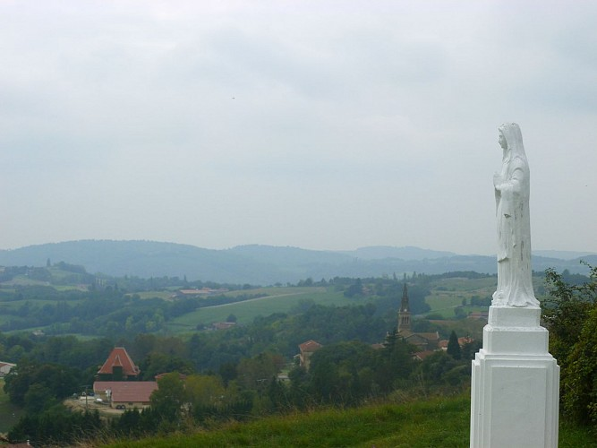 Montchenu au coeur des collines