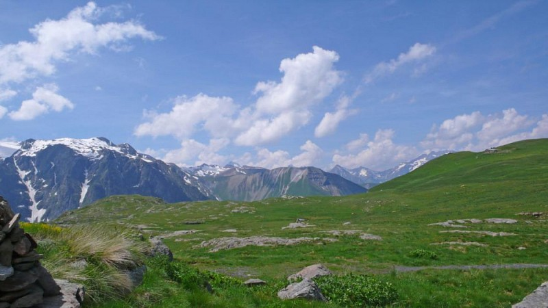Le Plateau d'Emparis (départ de Mizoën)