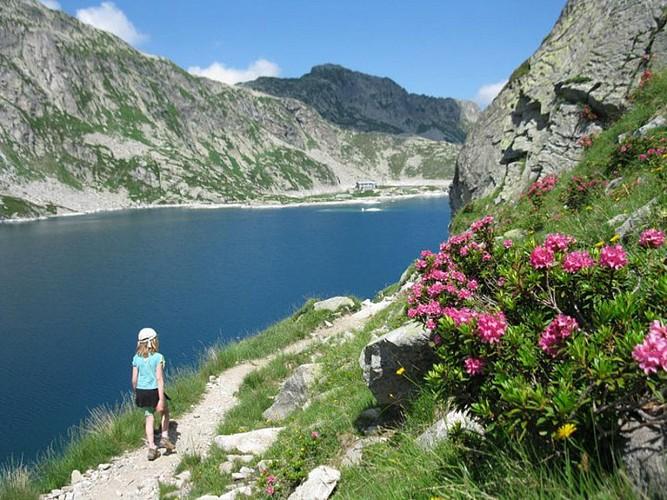 Les lacs des Sept Laux