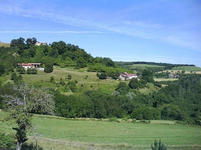 Vallons et collines des Chambaran