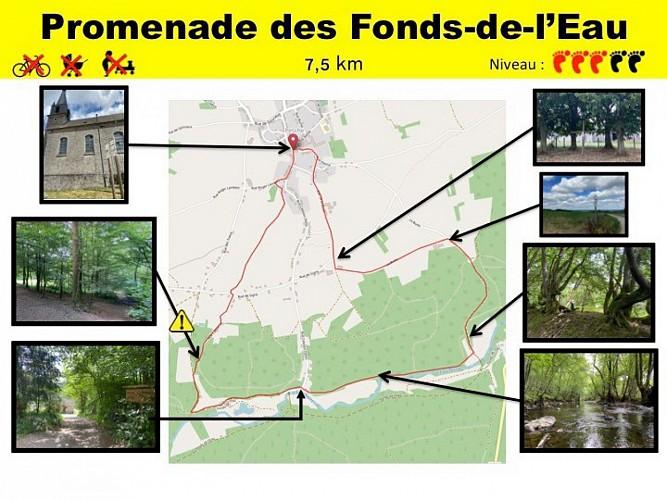 44 Promenade des Fonds-de-l'Eau - balise jaune