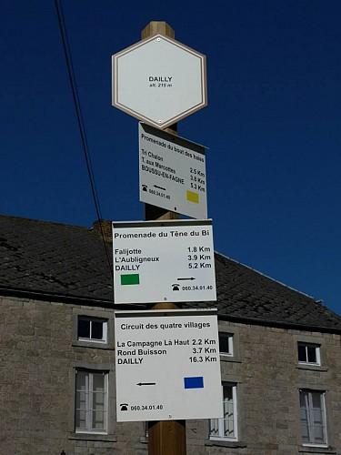 38 Promenade du Têne du Bi - balise verte