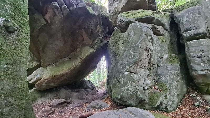 Mullerthal : Circuit des Grottes