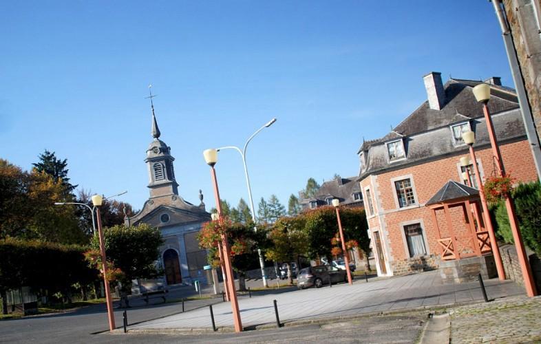 8 Promenade du Moulin Manteau - balise bleue