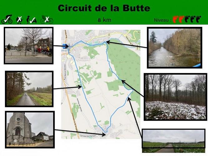 18 Circuit de la Butte - balise verte