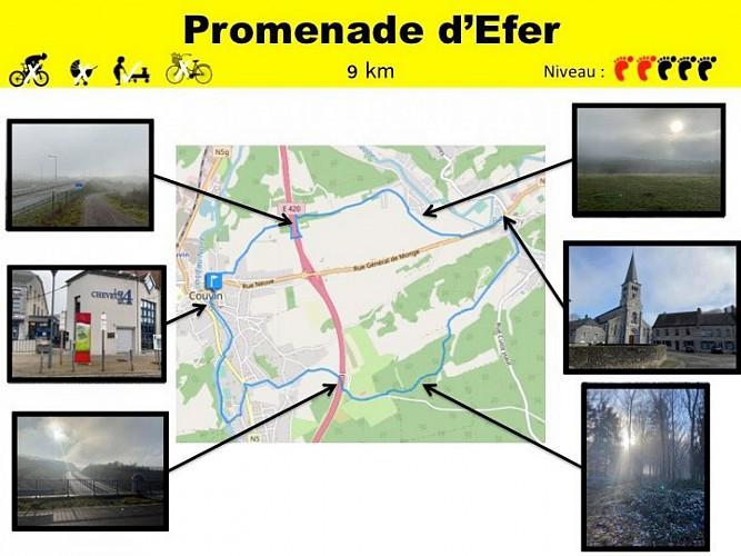 19 Promenade D'Efer - balise jaune