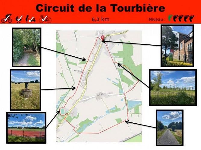 36 Circuit de la Tourbière - balise rouge