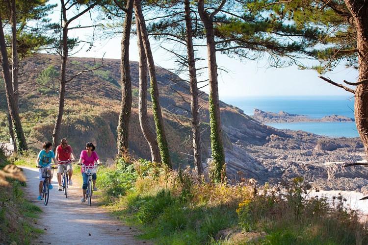Week-end à vélo sur le 3ème Grand Site de France de Bretagne