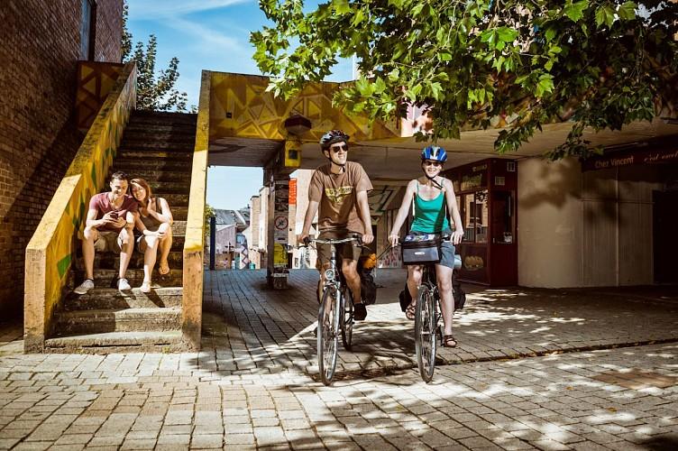 Waals-Brabant op de fiets - In het land van de stripverhalen