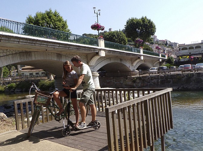 La Villeneuvoise à vélo - Villeneuve-Loubet