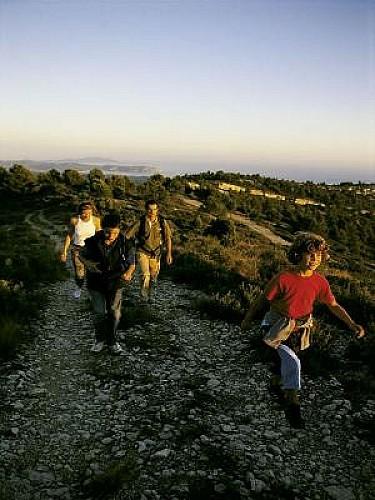 Ceyreste : Promenade dans les collines