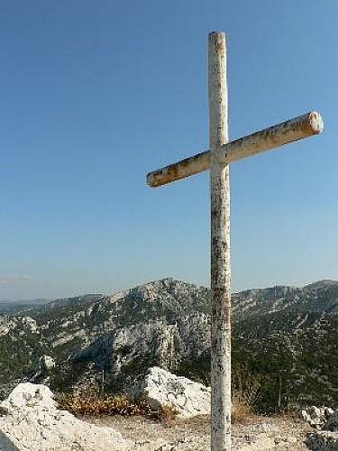 Marseille : La Croix de St Marcel