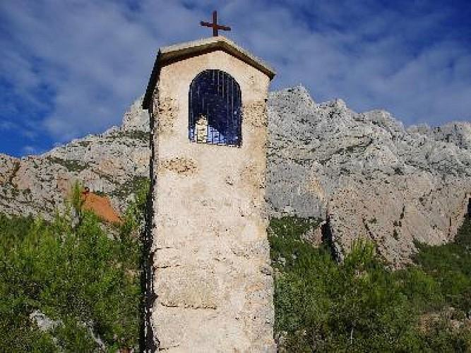 Randonnée à partir de la maison de la Sainte Victoire