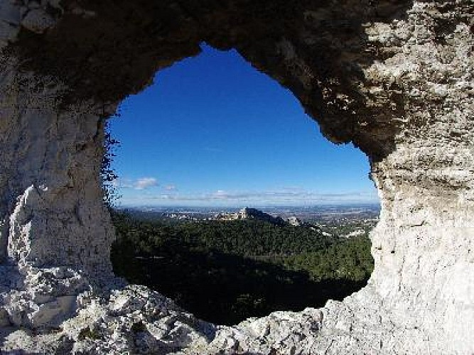 Le plateau de la Caume à St-Rémy-de-Provence