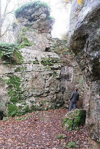 Boucle du Pas de la mignonne dite des roches enchantées