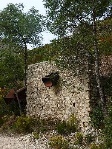 La Penne, au-dessus de la vallée de Huveaune