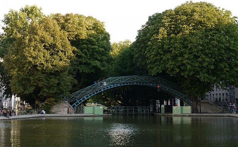 Canal Saint-Martin à pied