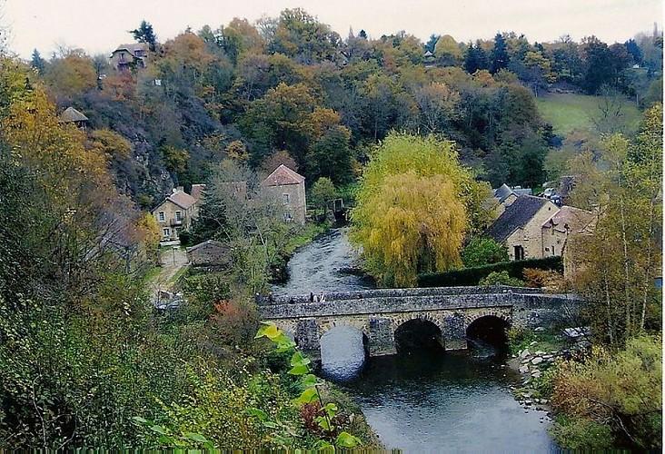 La Sarthe, bordée de peupliers
