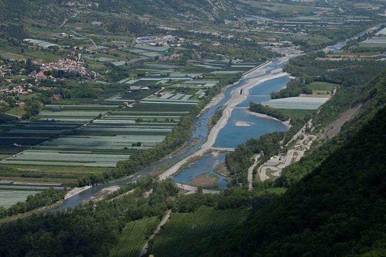 Les vergers de la Durance et le site des 3 Lacs
