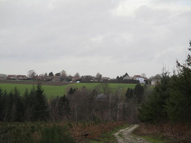 Villers-la-Ville: Baladons-nous vers le Ry d'Hez.