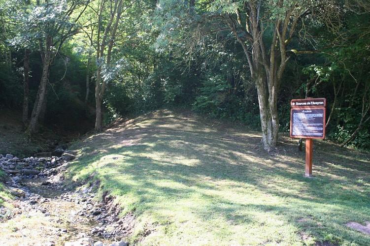 Autour des Sources de l'Aveyron