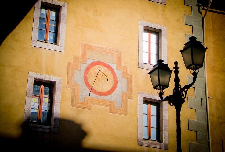 Cadran solaire à Briançon