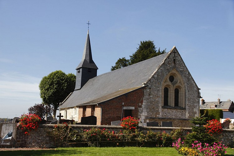 Randonnée sur le chemin de la Tour Romane, Saint Mards de Blacarville 27500