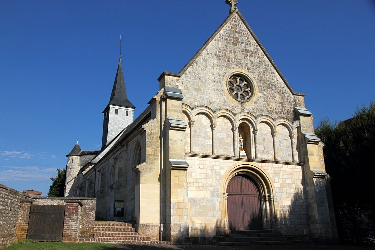 Randonnée sur le chemin de l'Abbaye, Corneville sur Risle 27500