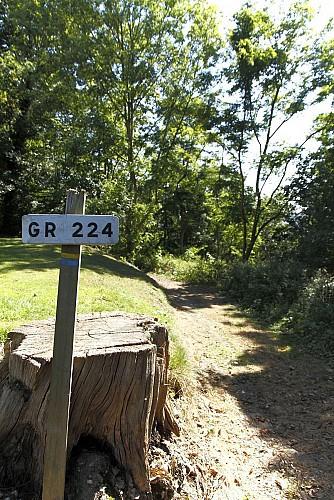 Randonnée sur le chemin des résistants, Manneville sur risle 27500