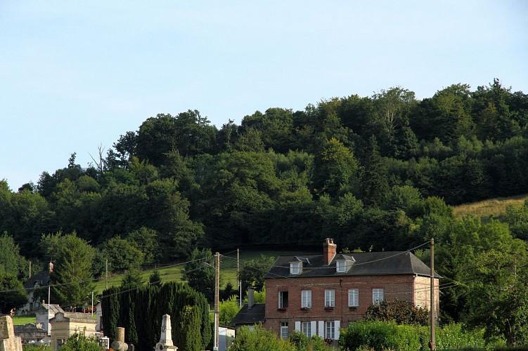 Randonnée sur le chemin du gibet, Saint Germain Village 27500