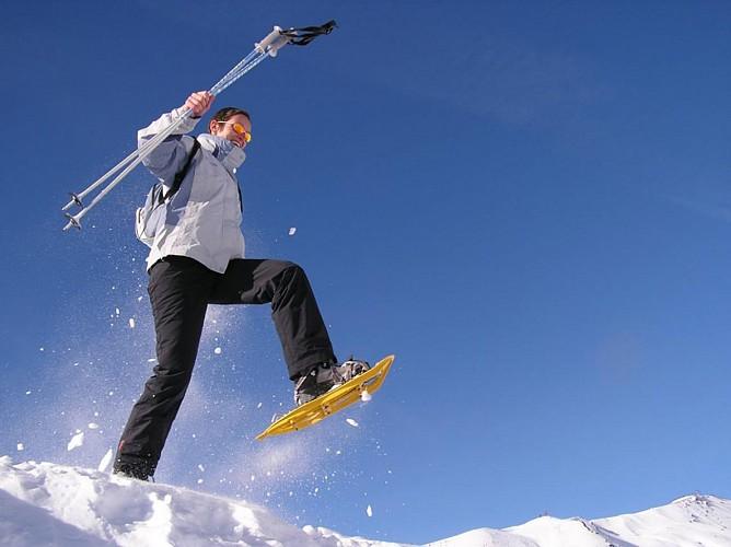 raquettes à neige st léger