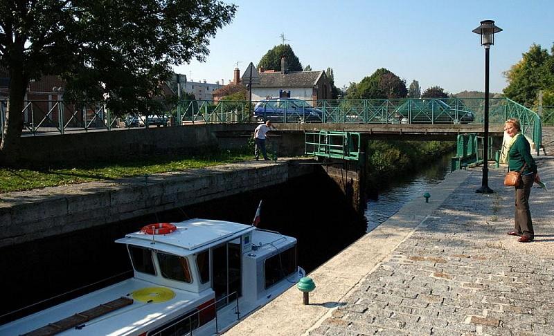 Canal de la Somme d'Abbeville à Saint-Valery-sur-Somme