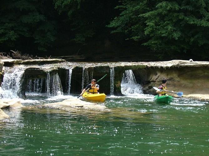 Canoë / Kayak sur le Guiers- 12km-  avec Vertes Sensations