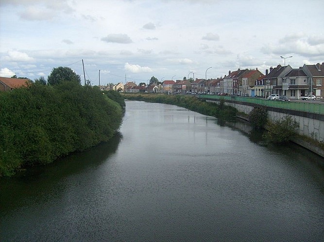 Canal de Bergues, l'un des plus vieux canaux français