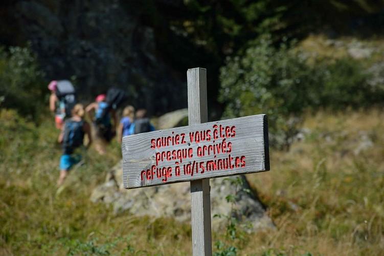 En direction du Vallon de la Mariande