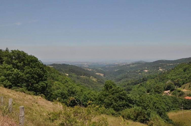 Randonnée Tour du Pays de Saint Félicien Jour 2