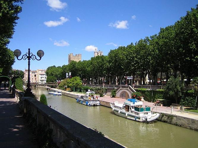Canal de la Robine classé patrimoine mondial par l'Unesco