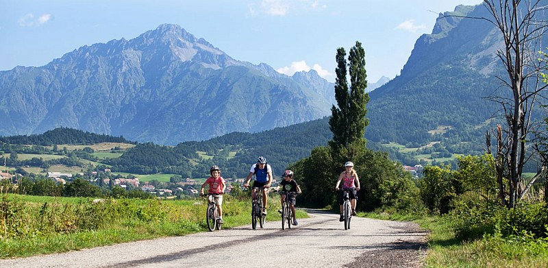 Sortie vélo dans le Champsaur (Pays Gapençais - Hautes-Alpes)