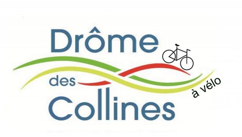 La Drôme des Collines à vélo - Parcours Cyclotouriste VTRP : Boucle n°44