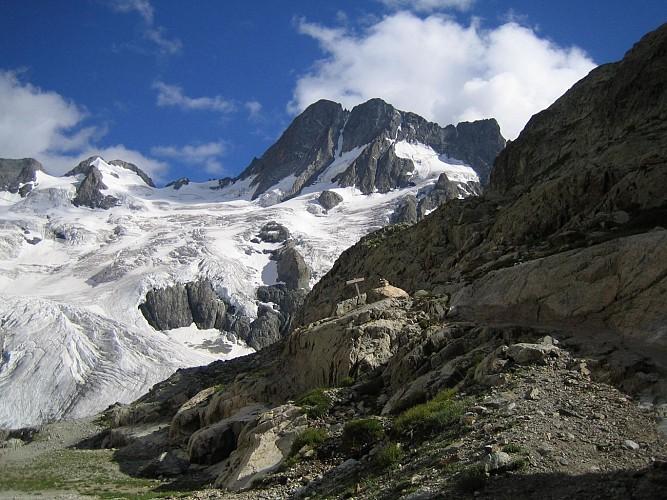 Le Glacier de la Pilatte