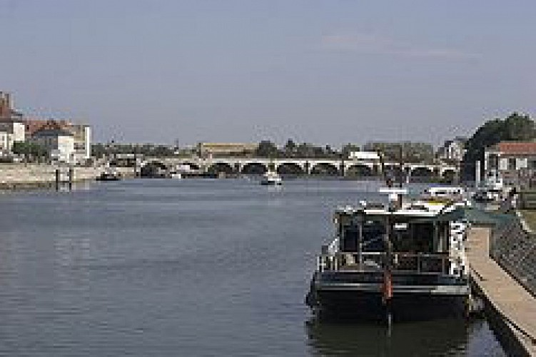 La Saône, première rivière de France